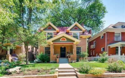 Just Listed! Stylish Denver Square in Congress Park