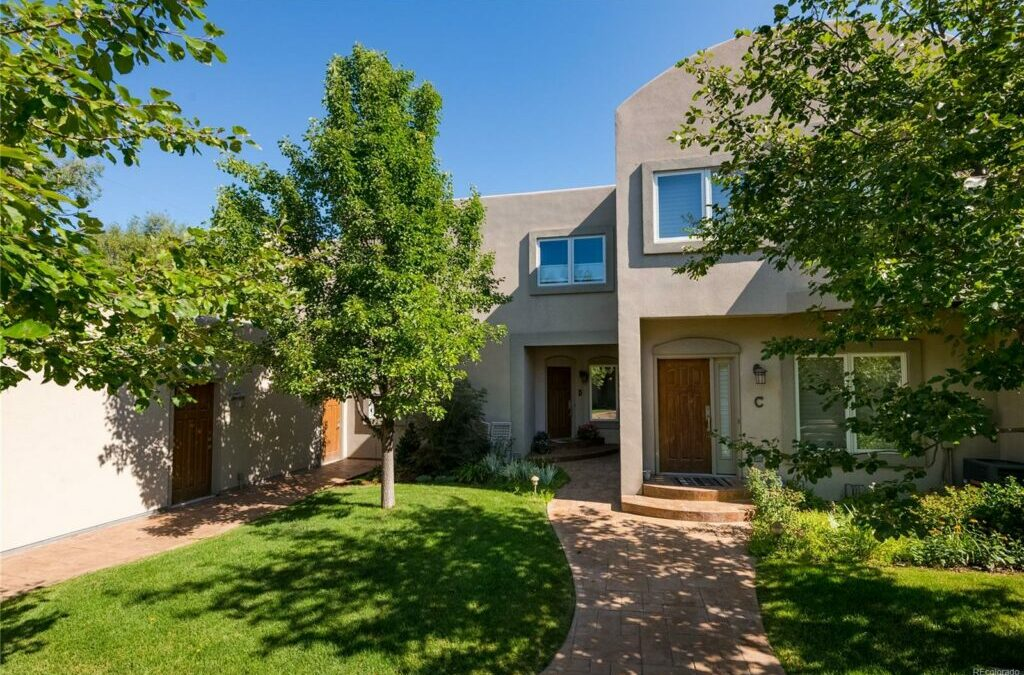 SOLD: Rare Cherry Creek End-Unit Townhome